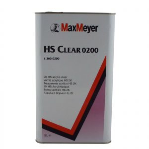 Max Meyer 0200 Maxiclear HS Lacquer 2K