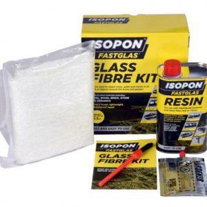 Isopon Large Glass Fibre Repair Kit