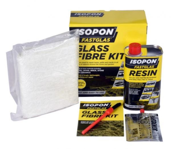 Isopon Large Glass Fibre Repair Kit Fastglas