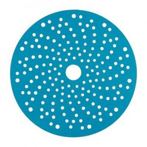 3M 325U Hookit Abrasive Blue Disc, Multi Hole, P500, 150 mm, Qty of 100