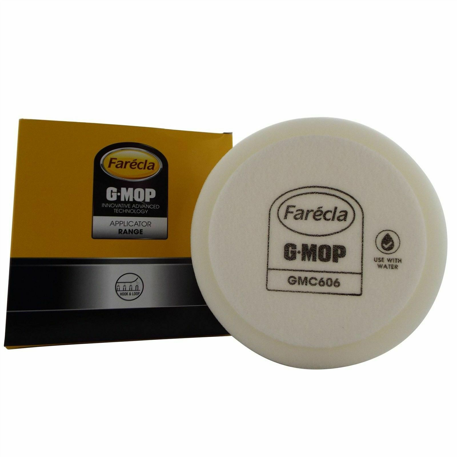 Pack of 2 FARECLA TRADE G Mop 14mm Thread Flexible Backplate for 6in Pads