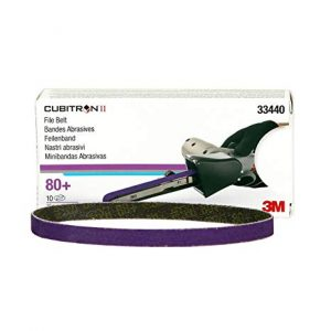 3M™ Cubitron™ II File Belt is a premium abrasive file belt for spot weld removal and other grinding / sanding applications. This file belt can be used with various types of file belt sanding machines available in the market.