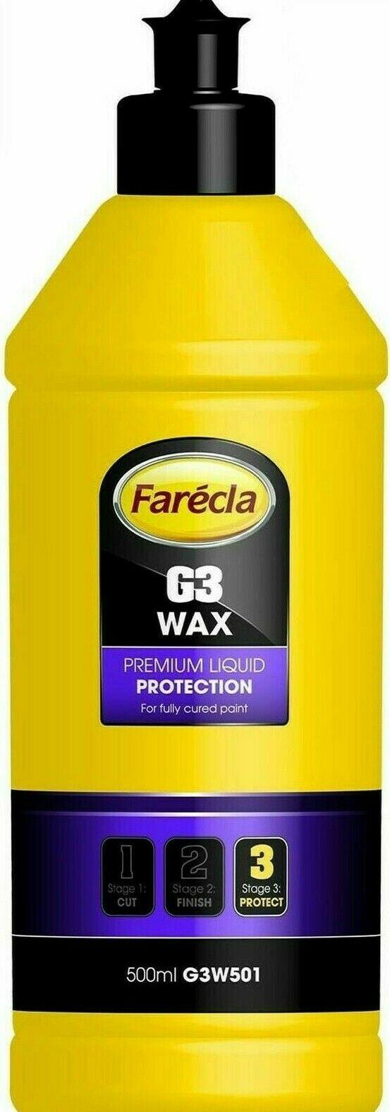 Farecla G3 WAX Premium Liquid Protection 500 ML G3W501