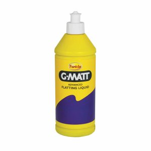 G Matt Flatting Liquid - Advanced - 500ml Even solution - gives an even matt finish for blow-ins and fade-outs Safe on the surface - doesnÔÇÖt stain mouldings or trim No wax or traffic film - contains a detergent to remove any wax or traffic film