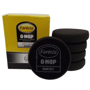 "Farecla Trade G Mop Black Finishing Foams 3"" GMF301 Pack of 5"