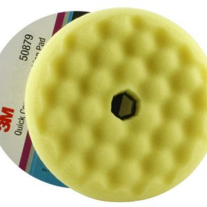 3M 50879 Perfect-it III Yellow High Gloss Convoluted Foam Polishing Pad 150MM