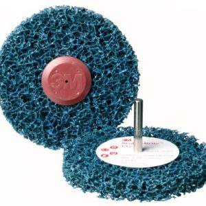 3M 57019 Scotch-Brite Roloc+ Clean & Strip Disc GP Blue 150mm x 13mm