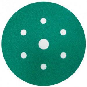 3M 80351 P60 150mm 7H Hookit Green Abrasive Discs