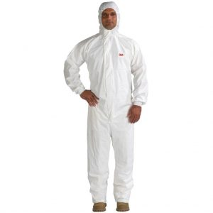 3M 4545WL Protective Coverall Type 5/6 White L