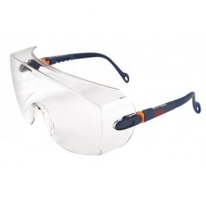 3M 2800 Series Overspectacles Anti-Scratch Clear Lens