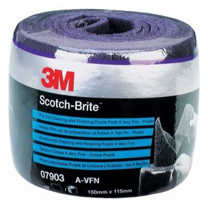 3M 07903 Scotch-Brite Clean and Finish Pre-Cut Roll