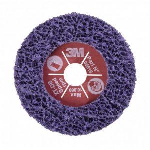 3M 05816 Scotch-Brite XT Fibre Backed Disc XT-DB Purple