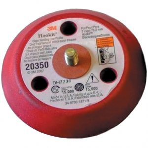 3M 20350 Hookit Clean Sanding Low Profile Disc Pad External 3 Holes