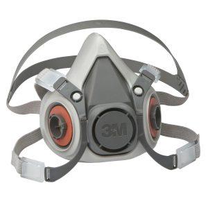 3M 06962 Reusable Low Maintenance Half Face Mask Medium