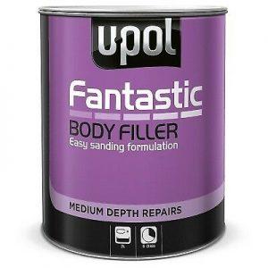 U-POL FANTASTIC ULTRA LIGHTWEIGHT BODY FILLER FOR MEDIUM DEPTH REPAIRS