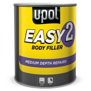 U-POL EASY 2 LIGHTWEIGHT BODY FILLER FOR MEDIUM DEPTH REPAIRS