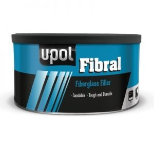 U-POL FIBRAL GLASS FIBRE REPAIR FILLER 1.28L