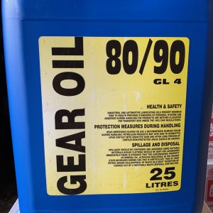 GEAR OIL EP80W-90 GL4 HIGH QUALITY OIL 25 litres