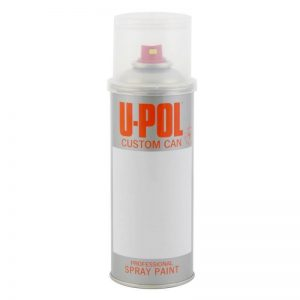 U-POL CUSTOM CAN PRE-CHARGED AEROSOL Solvent-Based 400ML