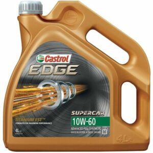Castrol Edge 10W60 With Titanium FST Fully Synthetic Engine Oil 4 Litre