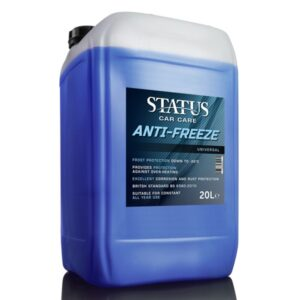 Status Car Care Blue -36 C Frost Protection Antifreeze Coolant 20L 20 Litre